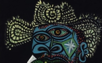 Picasso painting detail
