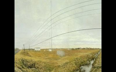 Rackstraw Downes painting