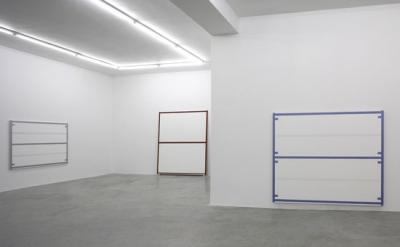 Alan Uglow painting installation