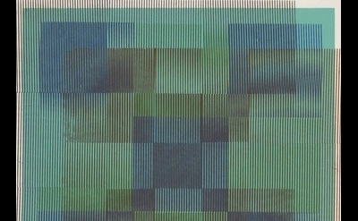 Carlos Cruz-Diez painting