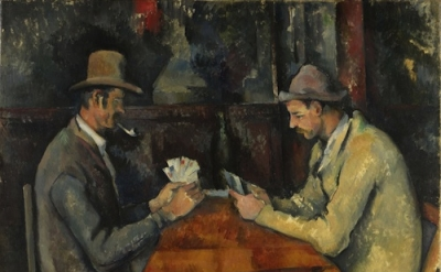 Cezanne, Card Players, Courtauld Institute