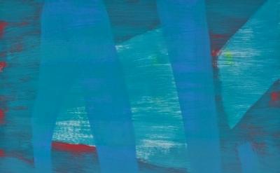 Jon Pestoni painting, detail