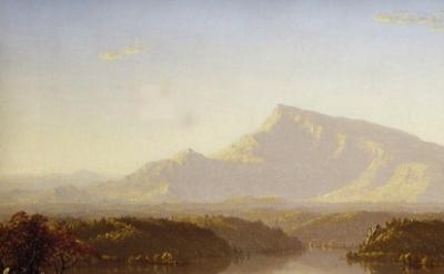 Sanford Gifford painting, detail