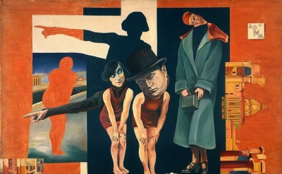 Hannah Hoch painting, detail