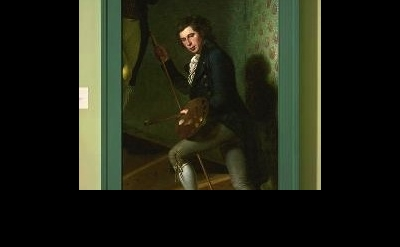 Charles Willson Peale painting, detail