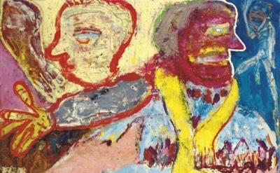 George McNeil painting, Dingbat Disco