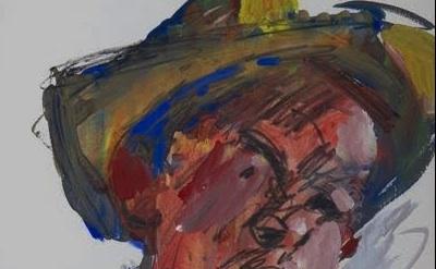 Hassel Smith, Self Portrait