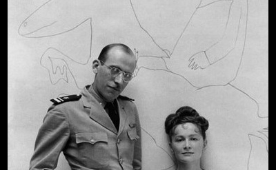 Hedda Sterne and Saul Steinberg