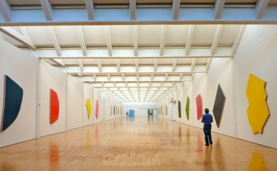Imi Knoebel painting installation