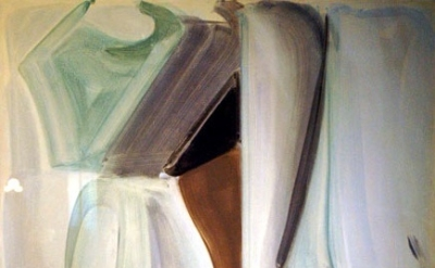 Patricia Treib painting, detail