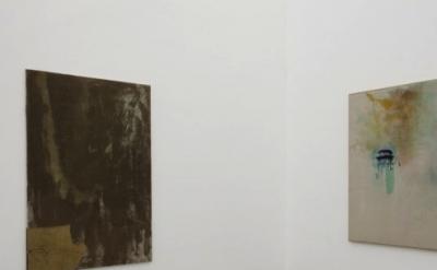 Sergei Jensen painting installation