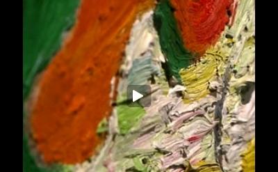 Wladyslaw Strzeminski painting, detail