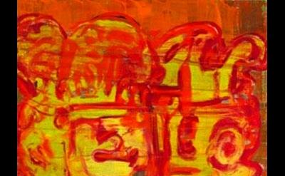 Craig Taylor, Amplifier Artifact, 2010, oil on canvas, detail