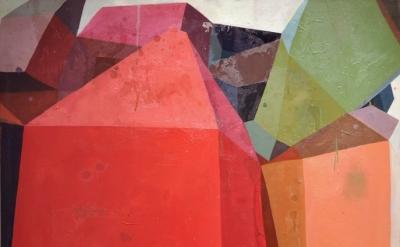 Deborah Zlotsky Untitled 2, Adjacent Possibilities series, 2011, detail