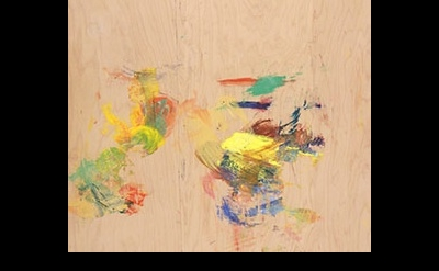 George Hofmann, Duccio Fragment #8, 2011, detail