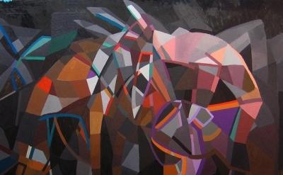 Kimberly Trowbridge, The Gift Horse, 2011, detail