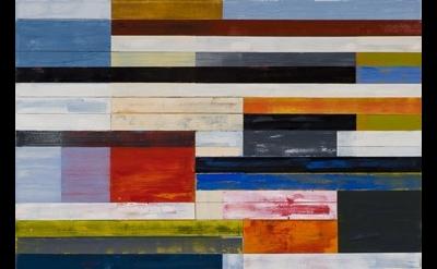 Lloyd Martin, painting, detail