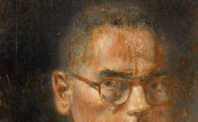 Walter Tandy Murch, Self Portrait with Glasses, c. 1960, detail