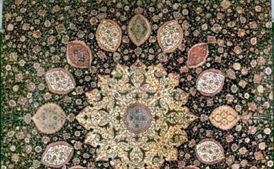 Ardabil Carpet, detail