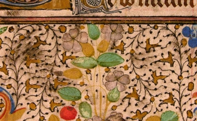 Book of Hours, France, ca. 1450-1475, Ms. Codex 001918, detail