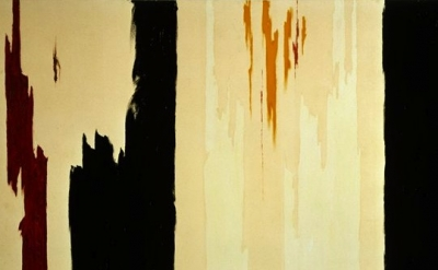 Clyfford Still, painting, detail