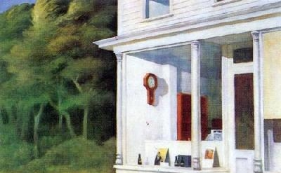 Edward Hopper, 7 A.M.