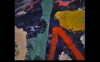 Gillian Ayres, painting, detail
