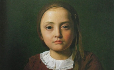 Constantin Hansen, Portrait of a Little Girl, 1850