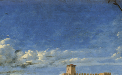Detail, Giovanni Bellini, Ecstasy of St. Francis, Frick Collection