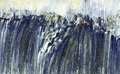 Jay DeFeo, Origin, 1956