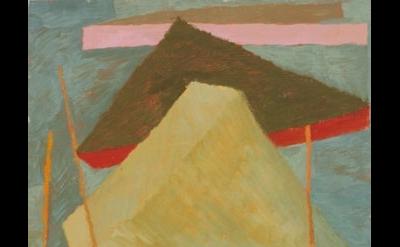 Liz Ainslie painting, detail
