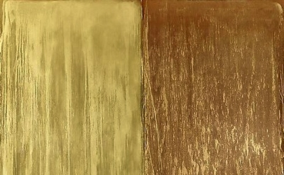 Pat Steir painting, detail