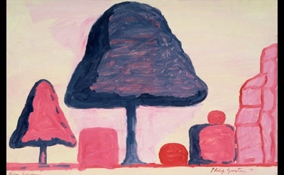 Philip Guston, Rome Garden, 1971
