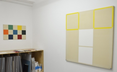 Eric Saxon, exhibition installation, Minus Space, 2011