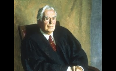George Augusta, Portrait of Chief Justice Warren Burger, detail