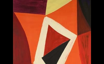 John McLean, Stasera, 2007, acrylic on canvas, detail