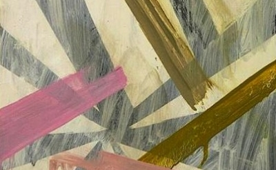Karl Bielik, painting, detail