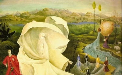Leonora Carrington, Temptation of St. Anthony, detail