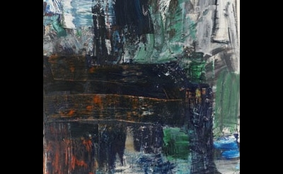 Louise Fishman, Zero At The Bone, 2010, detail