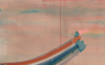 Phoebe Unwin, Key, 2010, Acrylic on canvas, detail