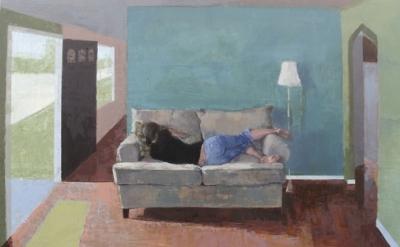Robert Anderson, Jaime Sleeping, detail