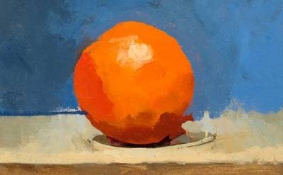Robert Dukes, Bright Orange, 2011, detail