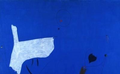 Joan Miró, Painting, 1927, detail