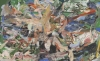 Cecily Brown, When Time Ran Out, 2016, oil on linen, 77 x 97 x 1 1/2 inches (courtesy of the artist and Paula Cooper Gallery)