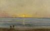 Charles François Daubigny, Sunset near Villerville, c. 1876 (The Mesdag Collection, The Hague)