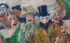 (detail) James Ensor, The Intrigue, 1890, oil on canvas, 90 x 149 cm (Koninklijk Museum voor Schone Kunsten, Antwerp, inv. 1856 Photo KMSKA © www.lukasweb.be - Art in Flanders vzw. Photography: Hugo Maertens / © DACS 2016)