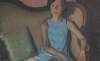(detail) Yedidya Hershberg, Ronit Revisited, 2016, oil on canvas mounted on wood, 26 x 18 inches (courtesy of the artist)