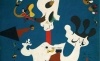 (detail) Joan Miró, Potato, 1928, oil on canvas, 39 3/4 x 32 1/8 inches (The Metropolitan Museum of Art)