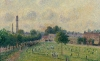 Camille Pissarro, Kew Green, 1892, oil paint on canvas, 46 x 55 cm (Musee d'Orsay, Paris, France)