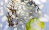 Judith Simonian, Two Seasons, 2014, acrylic on canvas, 26 x 34 inches (courtesy of Edward Thorp Gallery)